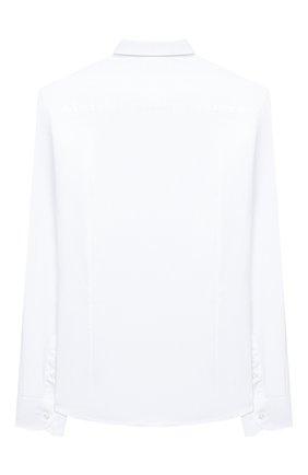 Детская хлопковая рубашка PAOLO PECORA MILANO белого цвета, арт. PP2451/8A-12A | Фото 2