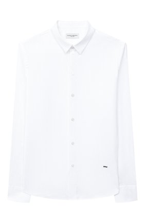 Детская хлопковая рубашка PAOLO PECORA MILANO белого цвета, арт. PP2454/8A-12A | Фото 1