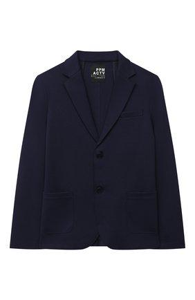 Детский пиджак PAOLO PECORA MILANO темно-синего цвета, арт. PP2458/8A-12A | Фото 1
