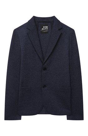 Детский пиджак PAOLO PECORA MILANO темно-синего цвета, арт. PP2472/8A-12A | Фото 1