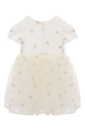 Женский платье MONNALISA белого цвета, арт. 736904 | Фото 2