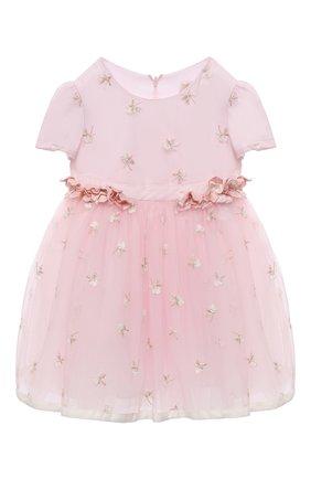 Женский платье MONNALISA розового цвета, арт. 736904 | Фото 1