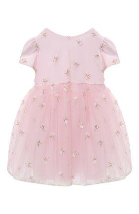 Женский платье MONNALISA розового цвета, арт. 736904 | Фото 2