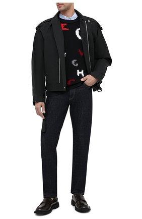 Мужские кожаные лоферы bv level BOTTEGA VENETA коричневого цвета, арт. 631300/VBS30 | Фото 2