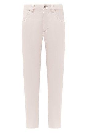 Женские джинсы BRUNELLO CUCINELLI бежевого цвета, арт. MPH43P5524 | Фото 1