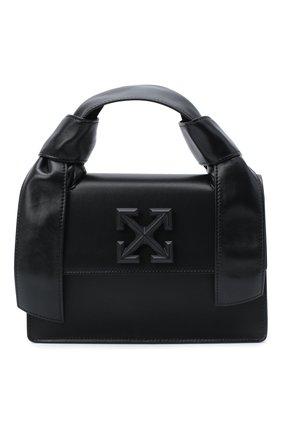 Женская сумка jitney OFF-WHITE черного цвета, арт. 0WNA115E20LEA0021000 | Фото 1