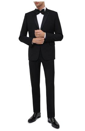 Мужской шерстяной смокинг VALENTINO черного цвета, арт. UV3CDR6025S | Фото 1