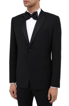 Мужской шерстяной смокинг VALENTINO черного цвета, арт. UV3CDR6025S | Фото 2