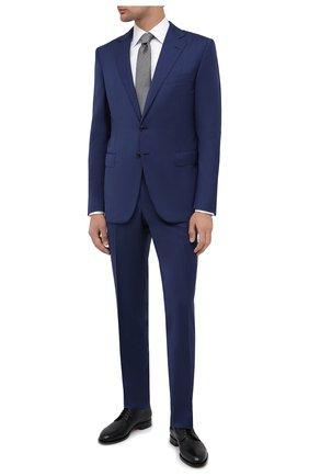 Мужской шерстяной костюм ZILLI синего цвета, арт. MMU-P212Z-10817/0001 | Фото 1