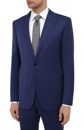 Мужской шерстяной костюм ZILLI синего цвета, арт. MMU-P212Z-10817/0001 | Фото 2