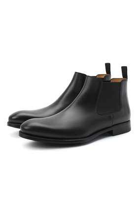 Мужские кожаные челси MAGNANNI черного цвета, арт. 23337/B0LTILUX | Фото 1