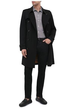 Мужские кожаные мокасины pavel BALLY черного цвета, арт. PAVEL-U/10 | Фото 2