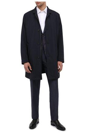 Мужские кожаные оксфорды STEMAR черного цвета, арт. 228811/154 | Фото 2