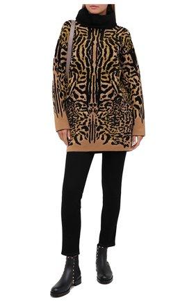 Женские кожаные челси valentino garavani rockstud VALENTINO черного цвета, арт. UW2S0D47/VSL | Фото 2