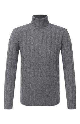 Мужской шерстяной свитер DANIELE FIESOLI светло-серого цвета, арт. DF 0076 | Фото 1