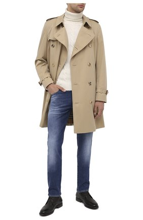 Мужской шерстяной свитер DANIELE FIESOLI белого цвета, арт. DF 0076 | Фото 2