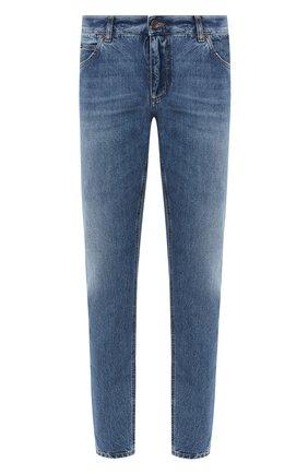 Мужские джинсы DOLCE & GABBANA голубого цвета, арт. GYJCCD/G8CU2 | Фото 1