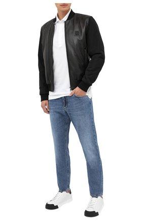 Мужские джинсы DOLCE & GABBANA голубого цвета, арт. GYJCCD/G8CU2 | Фото 2