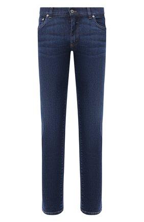 Мужские джинсы DOLCE & GABBANA темно-синего цвета, арт. GY07LD/G8CR6   Фото 1