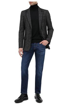 Мужские джинсы DOLCE & GABBANA темно-синего цвета, арт. GY07LD/G8CR6   Фото 2