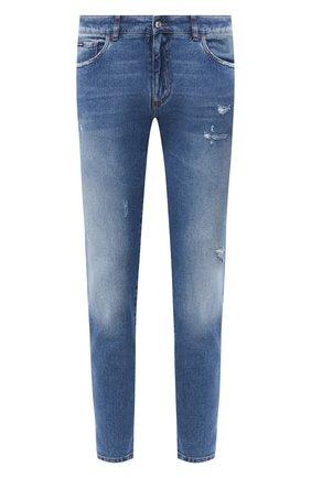 Мужские джинсы DOLCE & GABBANA голубого цвета, арт. GY07CD/G8CS2 | Фото 1