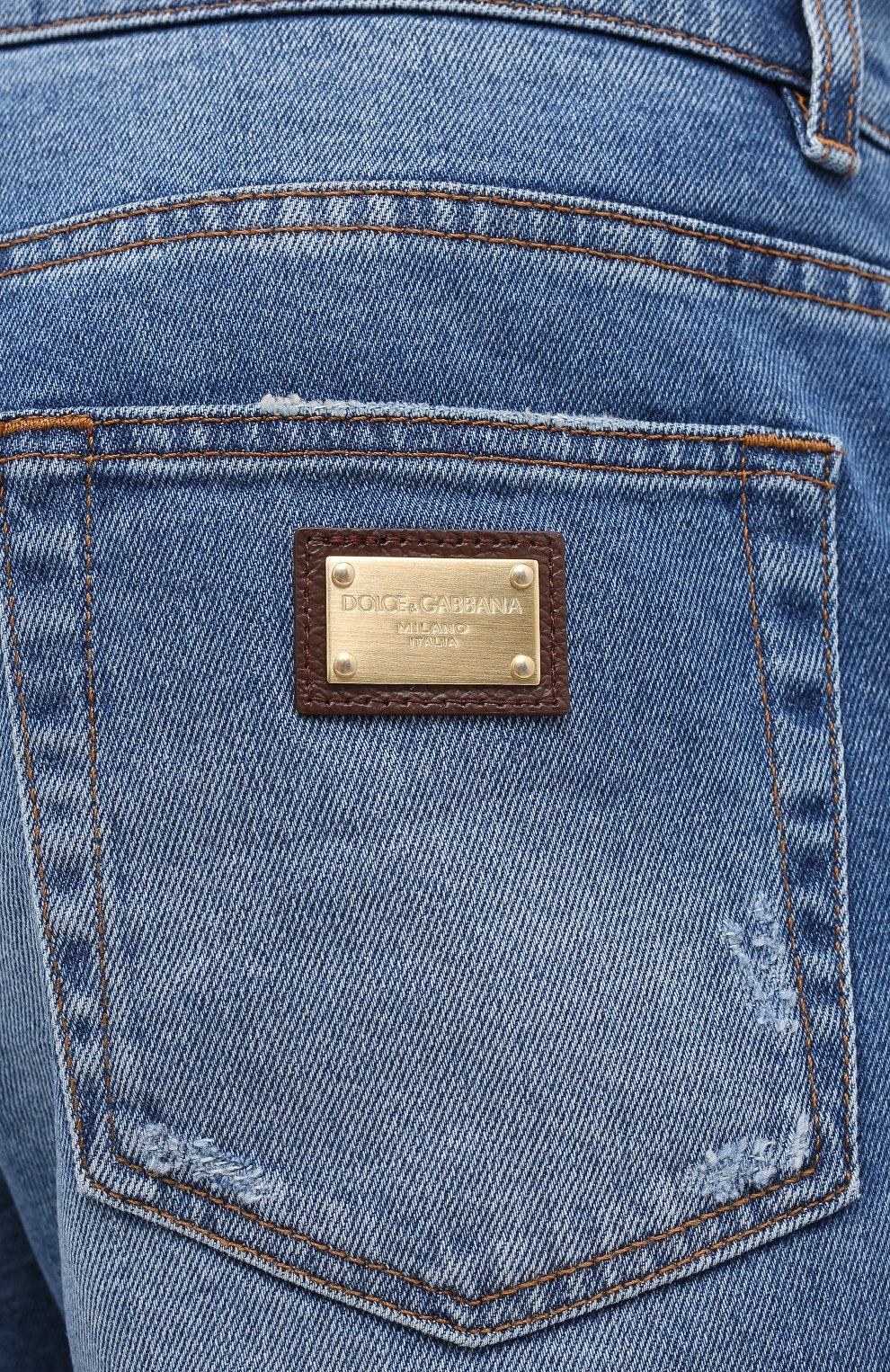 Мужские джинсы DOLCE & GABBANA голубого цвета, арт. GY07CD/G8CS2 | Фото 5