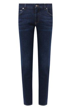 Мужские джинсы DOLCE & GABBANA темно-синего цвета, арт. GY07CD/G8CR6 | Фото 1