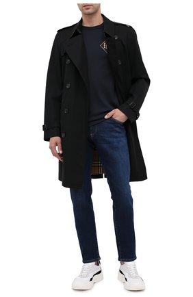 Мужские джинсы DOLCE & GABBANA темно-синего цвета, арт. GY07CD/G8CR6 | Фото 2