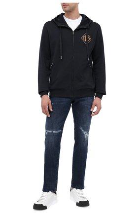 Мужские джинсы DOLCE & GABBANA синего цвета, арт. GY07CD/G8CR5 | Фото 2