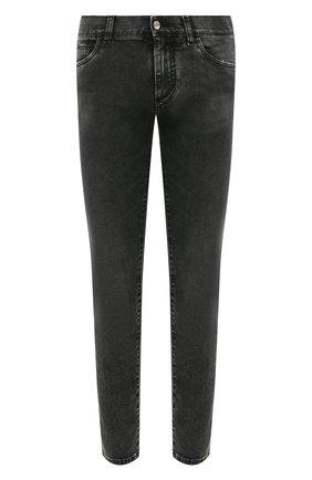 Мужские джинсы DOLCE & GABBANA серого цвета, арт. GY07CD/G8C07 | Фото 1