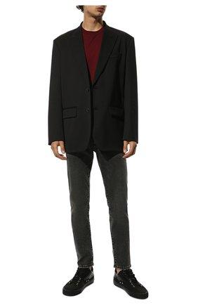 Мужские джинсы DOLCE & GABBANA серого цвета, арт. GY07CD/G8C07 | Фото 2