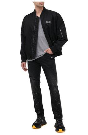 Мужские джинсы DOLCE & GABBANA черного цвета, арт. GY07CD/G8C05 | Фото 2
