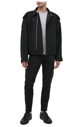 Мужской шерстяной джемпер DOLCE & GABBANA светло-серого цвета, арт. GXA63Z/JAVWH | Фото 2