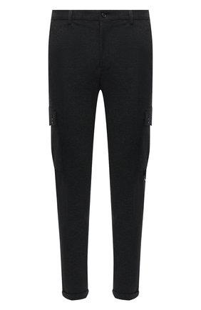 Мужской брюки-карго DOLCE & GABBANA темно-серого цвета, арт. GWQ1ET/HU7GG | Фото 1