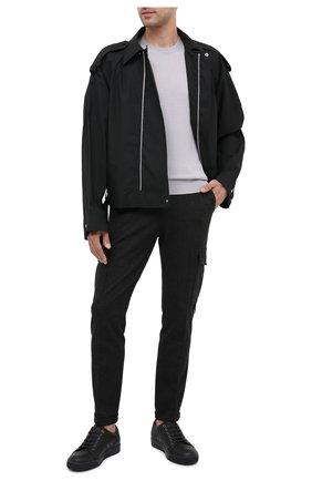Мужской брюки-карго DOLCE & GABBANA темно-серого цвета, арт. GWQ1ET/HU7GG | Фото 2