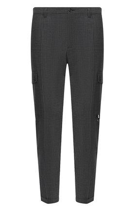 Мужской брюки-карго DOLCE & GABBANA темно-серого цвета, арт. GWQ1ET/FMRA4 | Фото 1