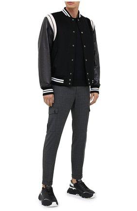 Мужской брюки-карго DOLCE & GABBANA темно-серого цвета, арт. GWQ1ET/FMRA4 | Фото 2