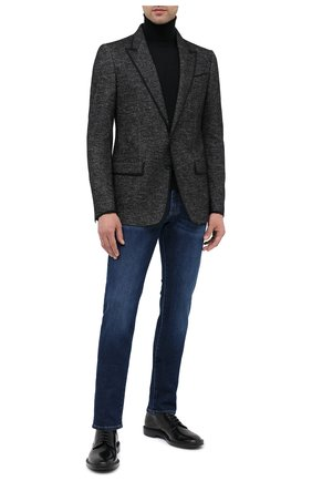Мужской пиджак DOLCE & GABBANA темно-серого цвета, арт. G20X0T/FM7B9 | Фото 2