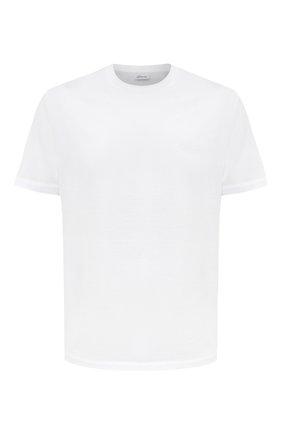 Мужская хлопковая футболка BRIONI белого цвета, арт. UJCA0L/PZ600 | Фото 1
