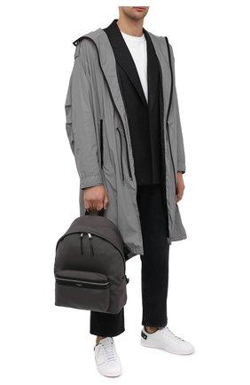 Мужской текстильный рюкзак city SAINT LAURENT серого цвета, арт. 534967/GIV3F | Фото 2