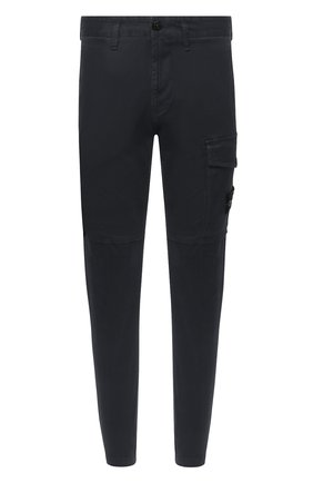 Мужской хлопковые брюки STONE ISLAND темно-серого цвета, арт. 7315312L1 | Фото 1