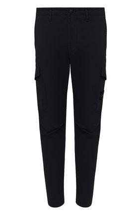 Мужской хлопковые брюки-карго STONE ISLAND темно-синего цвета, арт. 731531310 | Фото 1