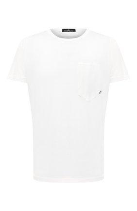 Мужская хлопковая футболка STONE ISLAND SHADOW PROJECT белого цвета, арт. 731920110 | Фото 1
