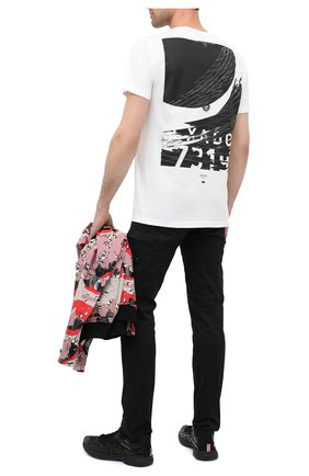Мужская хлопковая футболка STONE ISLAND SHADOW PROJECT белого цвета, арт. 731920110 | Фото 2