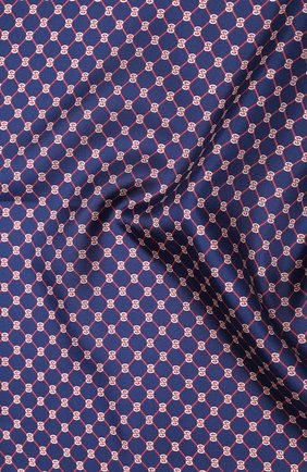 Мужской шелковый платок GUCCI синего цвета, арт. 630517/4G001 | Фото 2