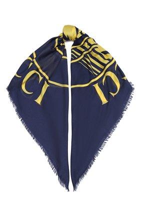 Мужской шарф GUCCI синего цвета, арт. 630504/4GB14 | Фото 1