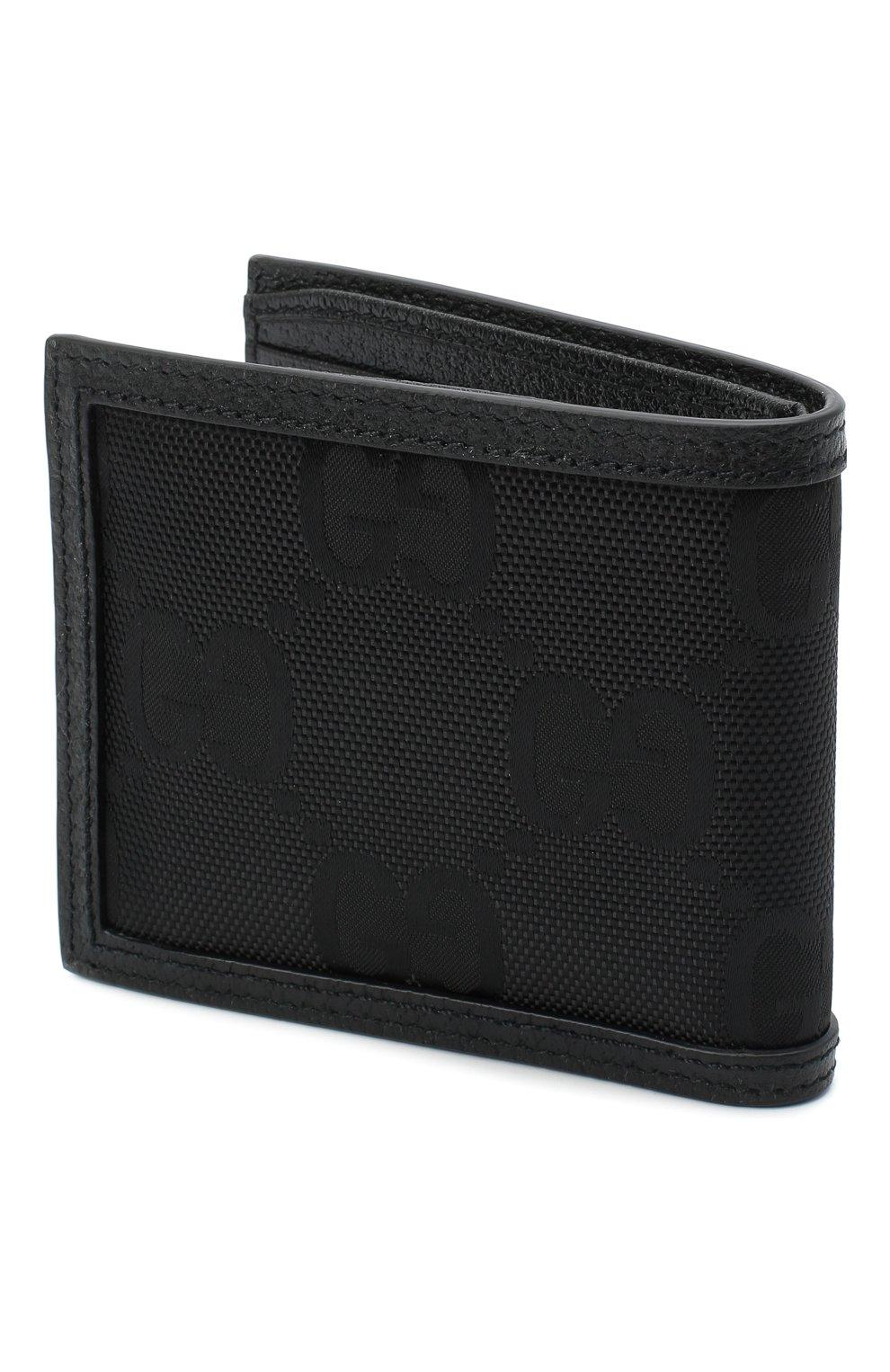 Мужской комбинированное портмоне off the grid GUCCI черного цвета, арт. 625573/H9HAN   Фото 2