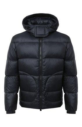 Мужская пуховая куртка BOSS темно-синего цвета, арт. 50436643   Фото 1