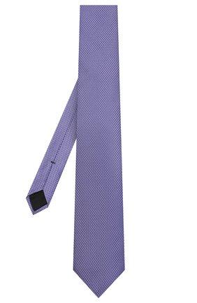 Мужской шелковый галстук BOSS сиреневого цвета, арт. 50441667 | Фото 2