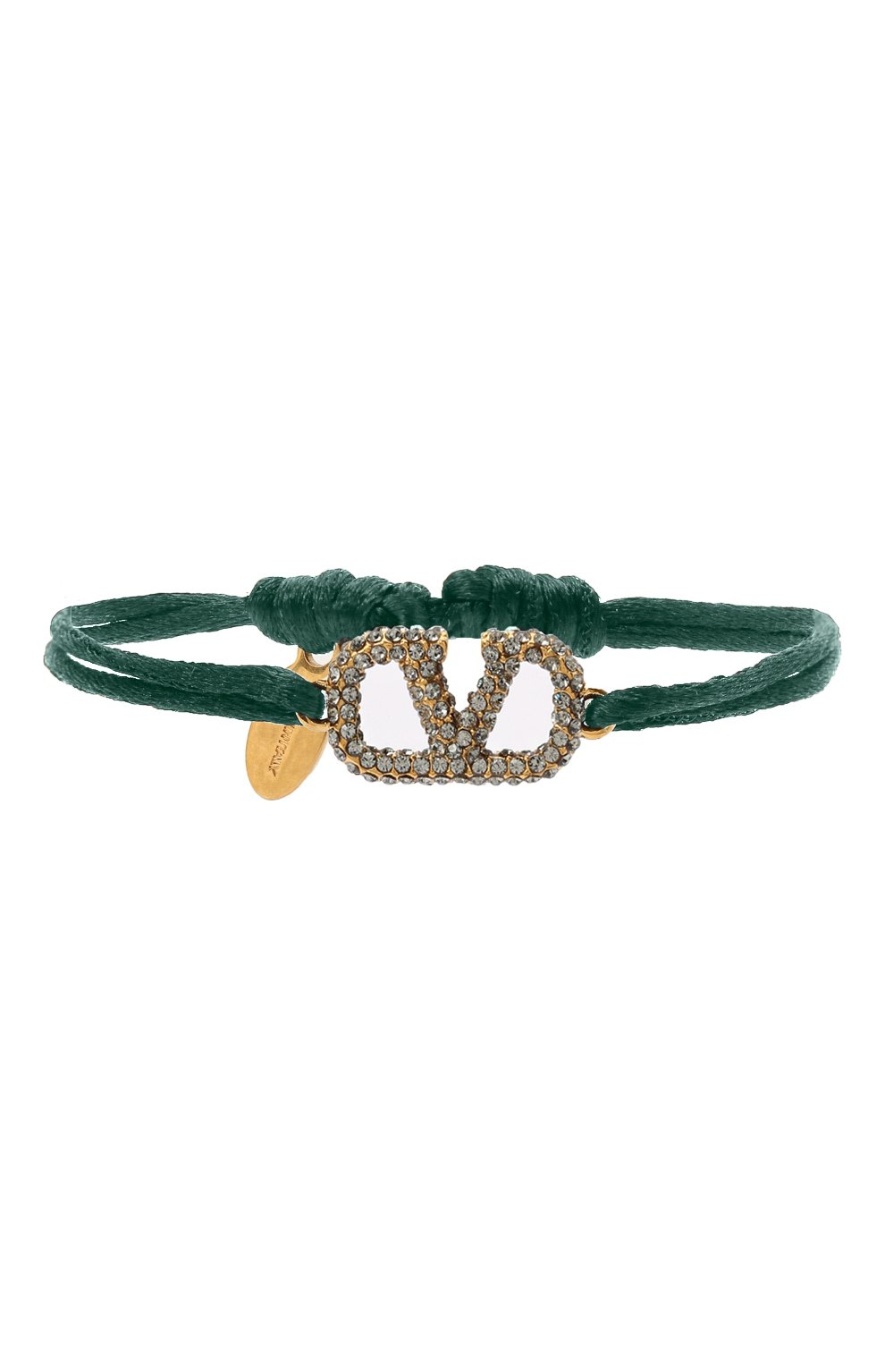 Женский браслет valentino garavani vlogo VALENTINO зеленого цвета, арт. UW2J0F81/YAB | Фото 1